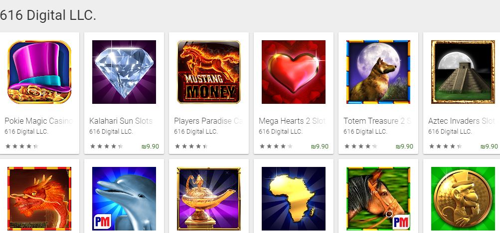 best slots for Android - 616 Digital Slots