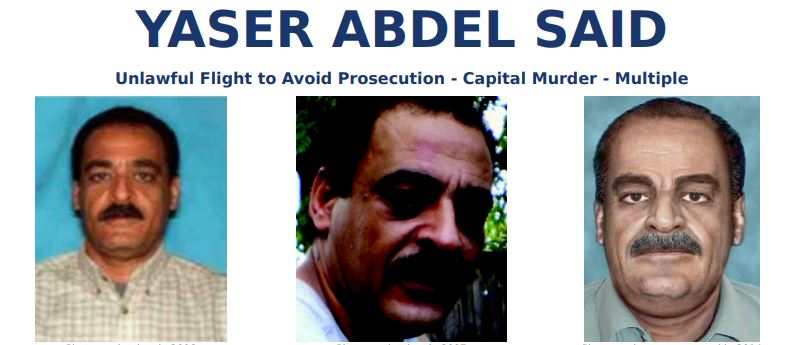 FBI most wanted YASER ABDEL SAID