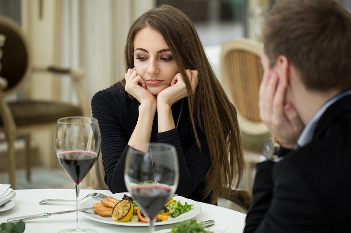 Unhappy Girlfriend