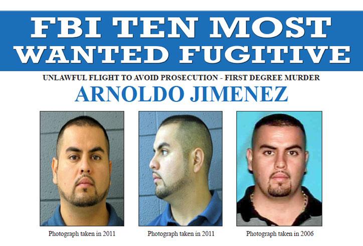 FBI Most Wanted Arnoldo Jimenez