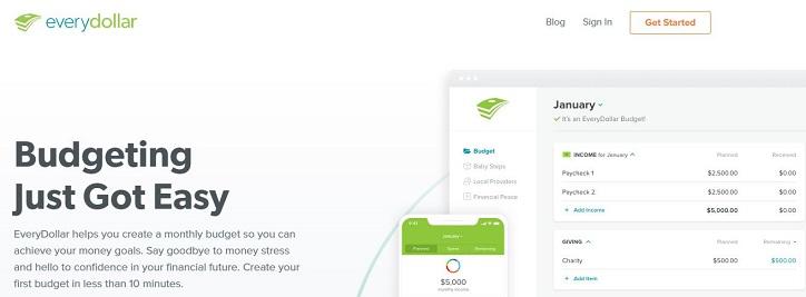 EveryDollar App Review