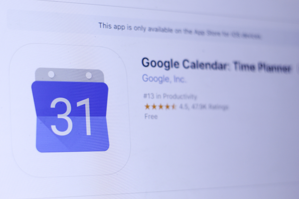 how to share your google calender