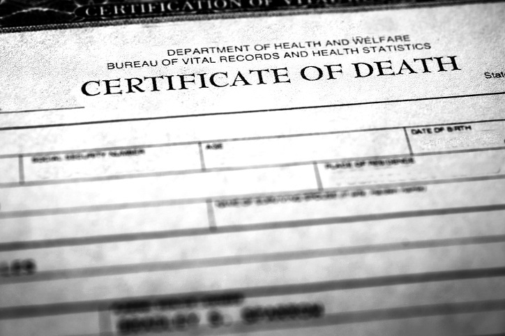 Maryland Death Records