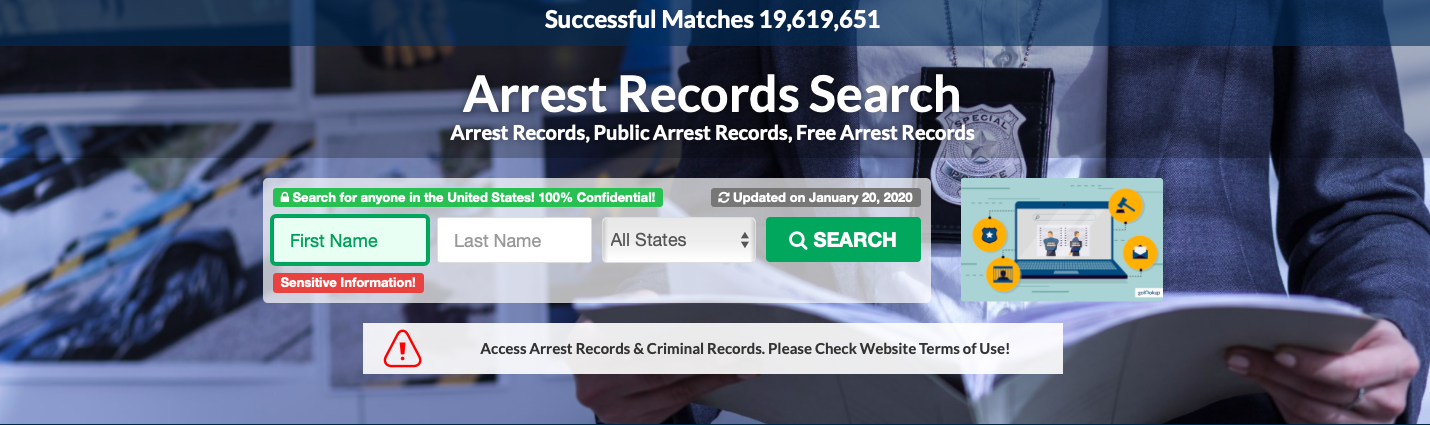 How to See Who Was Arrested