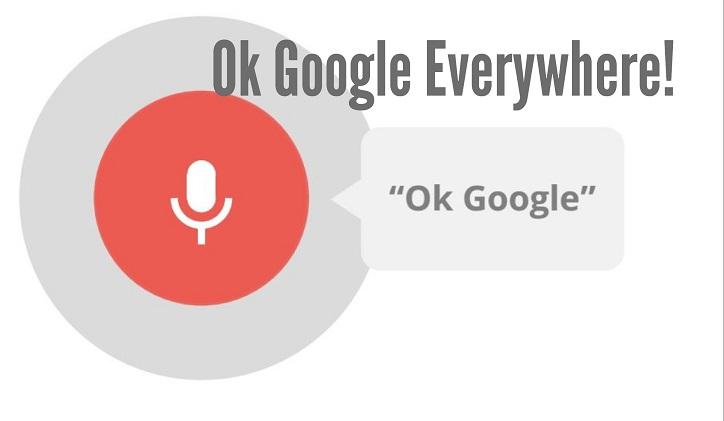 OK Google OK Google
