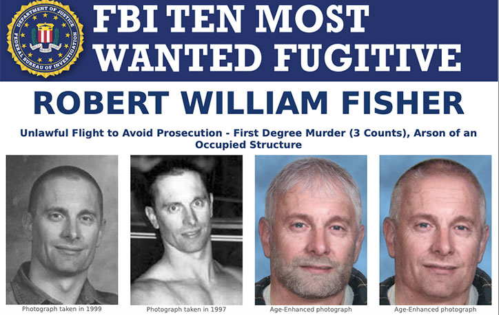 FBI Most Wanted Robert Wiliam Fisher