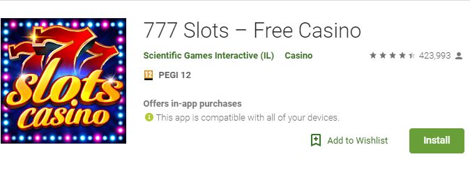 best slots for Android - 777 Slots
