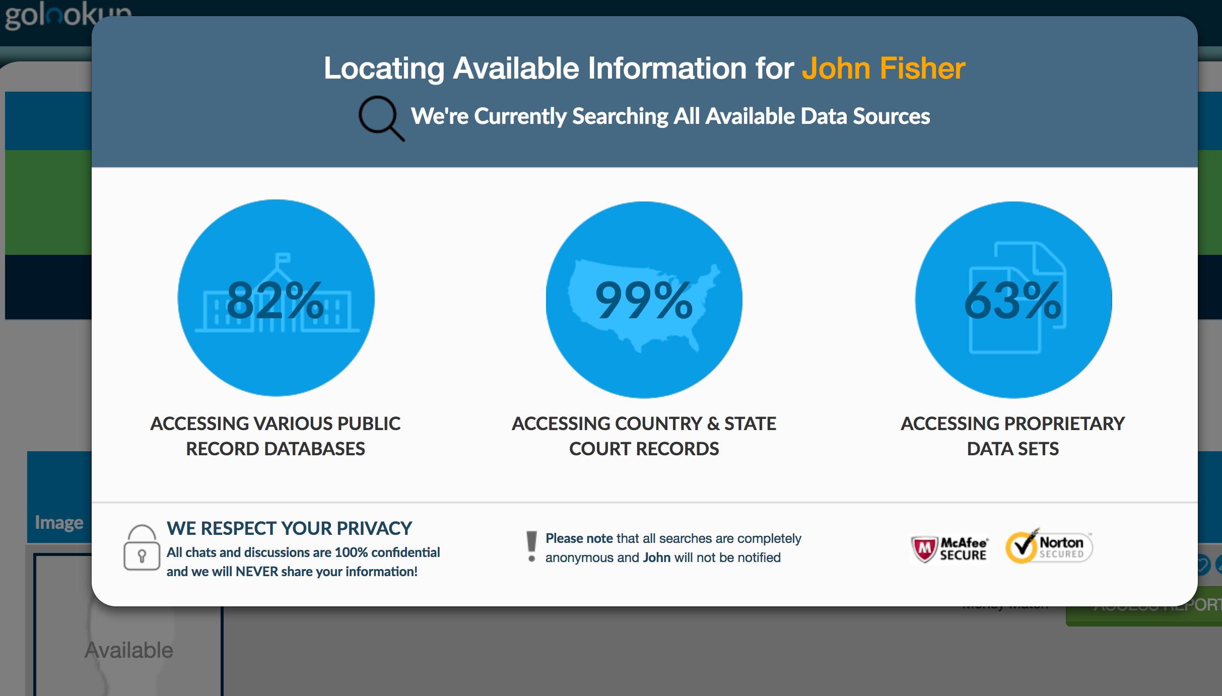 background check data