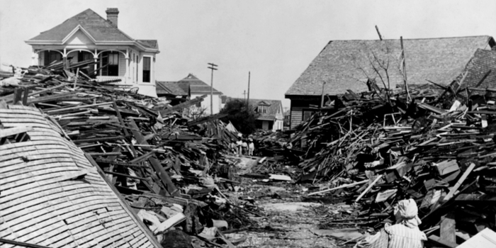 biggest storms in US history - the Galveston storm