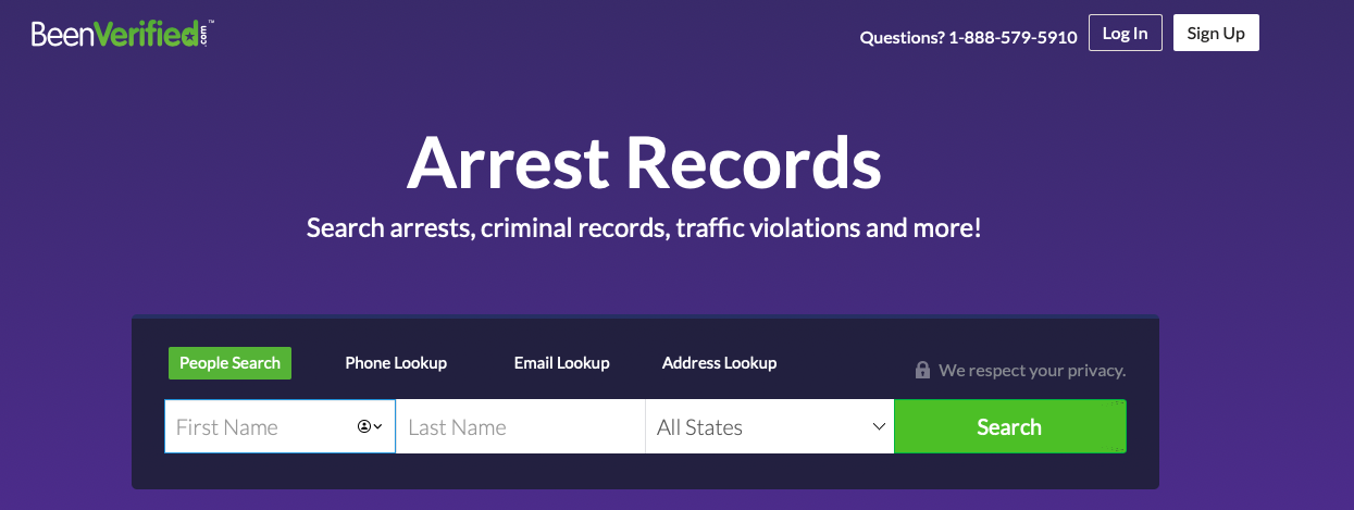 how to see if someone was arrested