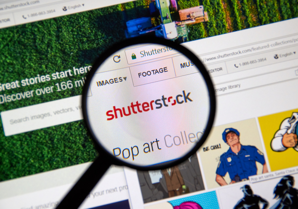 what is shutterstock