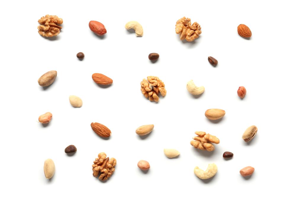 high fat food. nuts