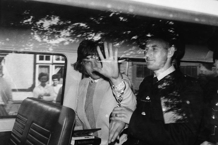 Mick Jagger Police Records