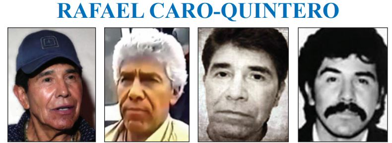 FBI most wanted RAFAEL CARO-QUINTERO