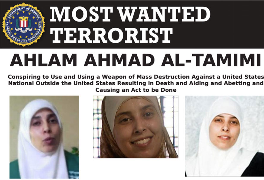 Most Wanted Terrorists by the FBI Ahlan Ahmad Ai Tamimi