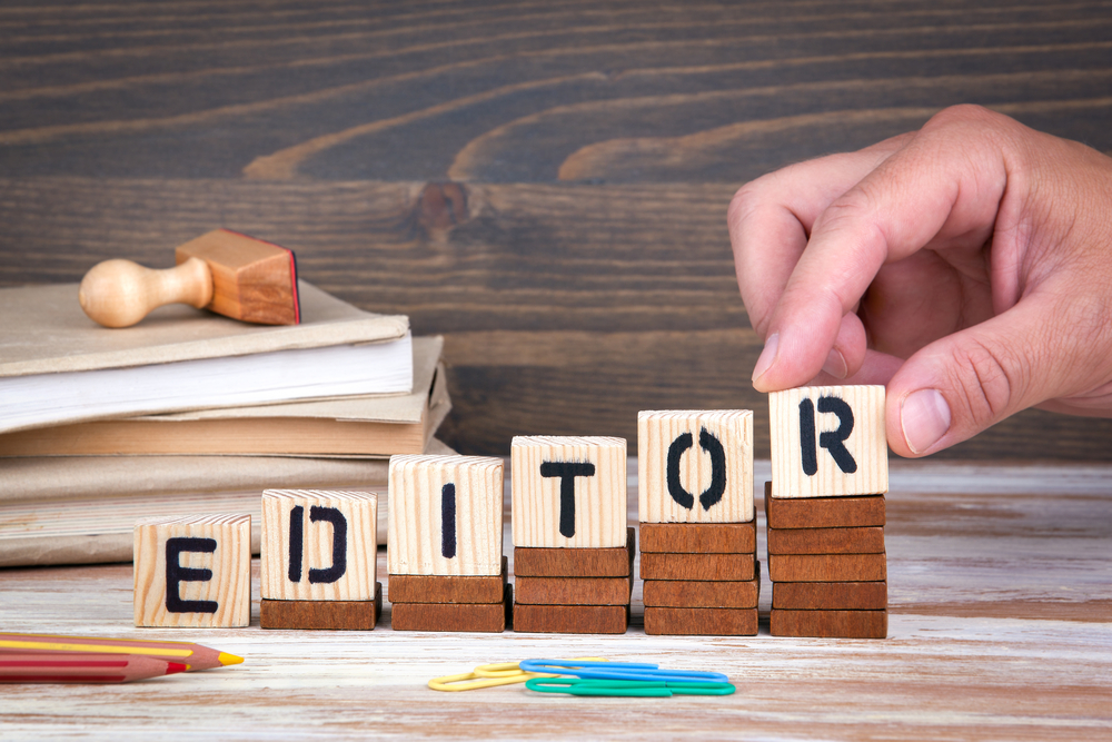 work from home editor
