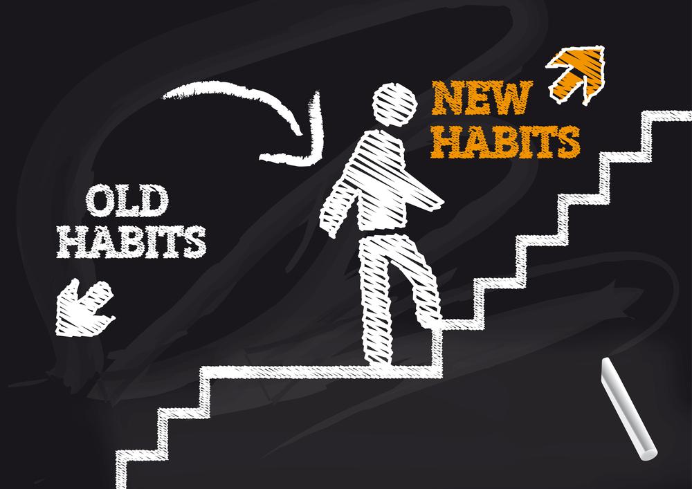 start new habits stop addiction