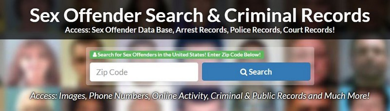 How many sex offenders in my zip code