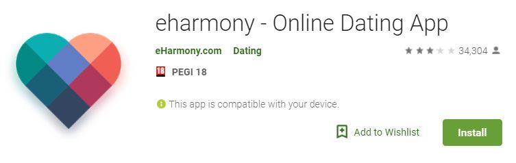 eHarmony best dating apps