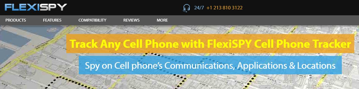 FlexiSpy Phone Tracker