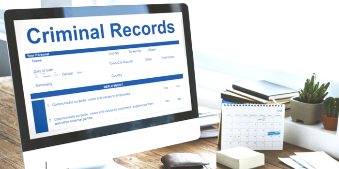 What is a Criminal Background Check the words criminal records appearing on a compter screen