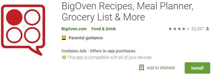 BigOven Recipes