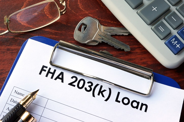 Federal Housing Administration 203(k) Loan