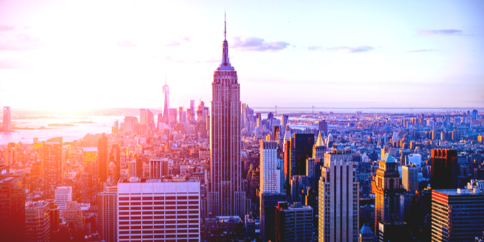 Newyork - New York's skiline
