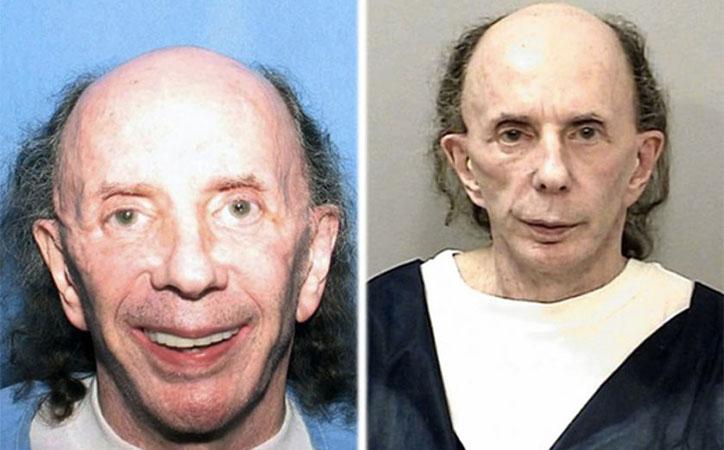 phil spector crazy mugshot