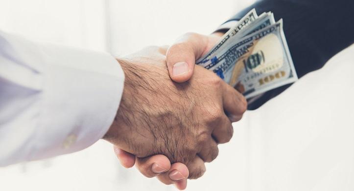 Bribery Law Washington