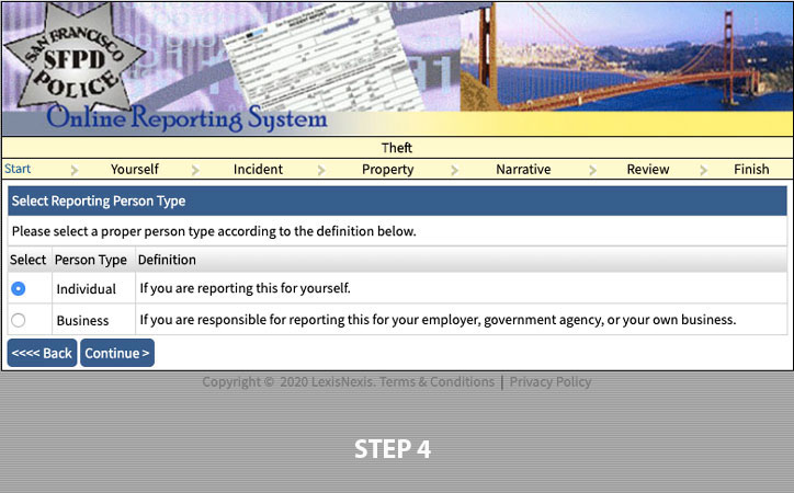 file police report online