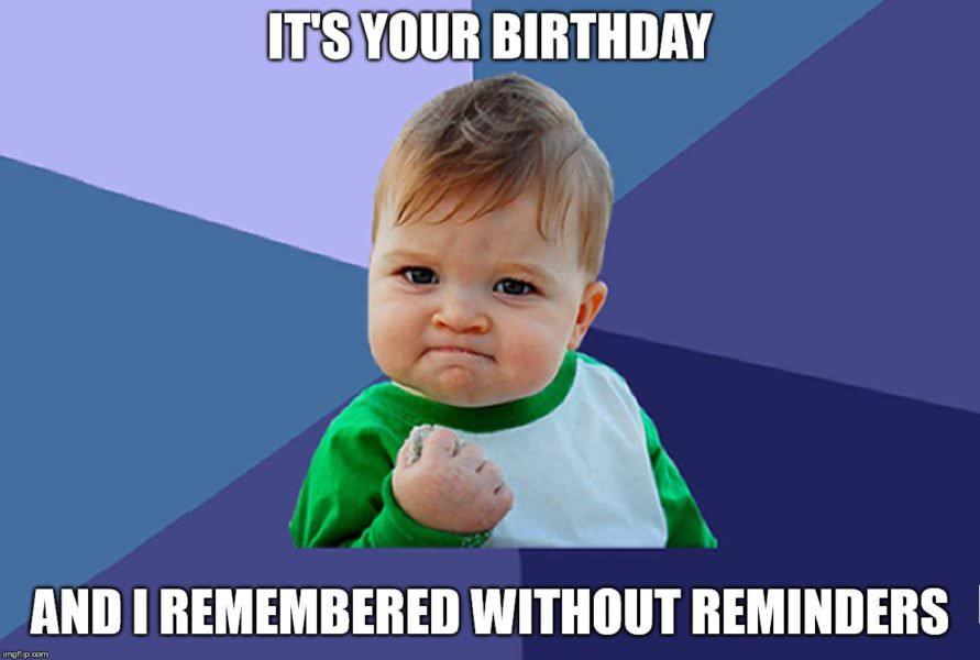 Best birthday memes