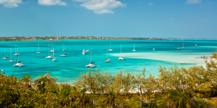 famous beaches in the world - Harbour Island, Bahamas