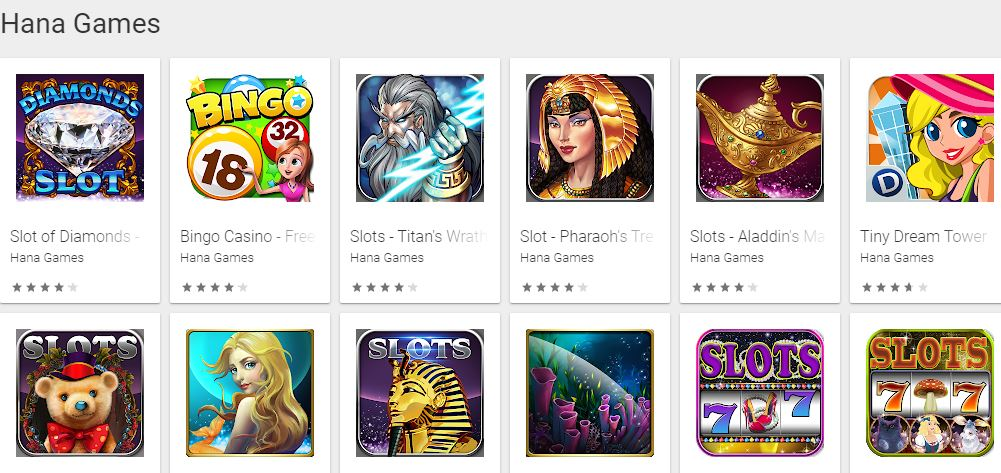 free slots for Android -  Hana Games