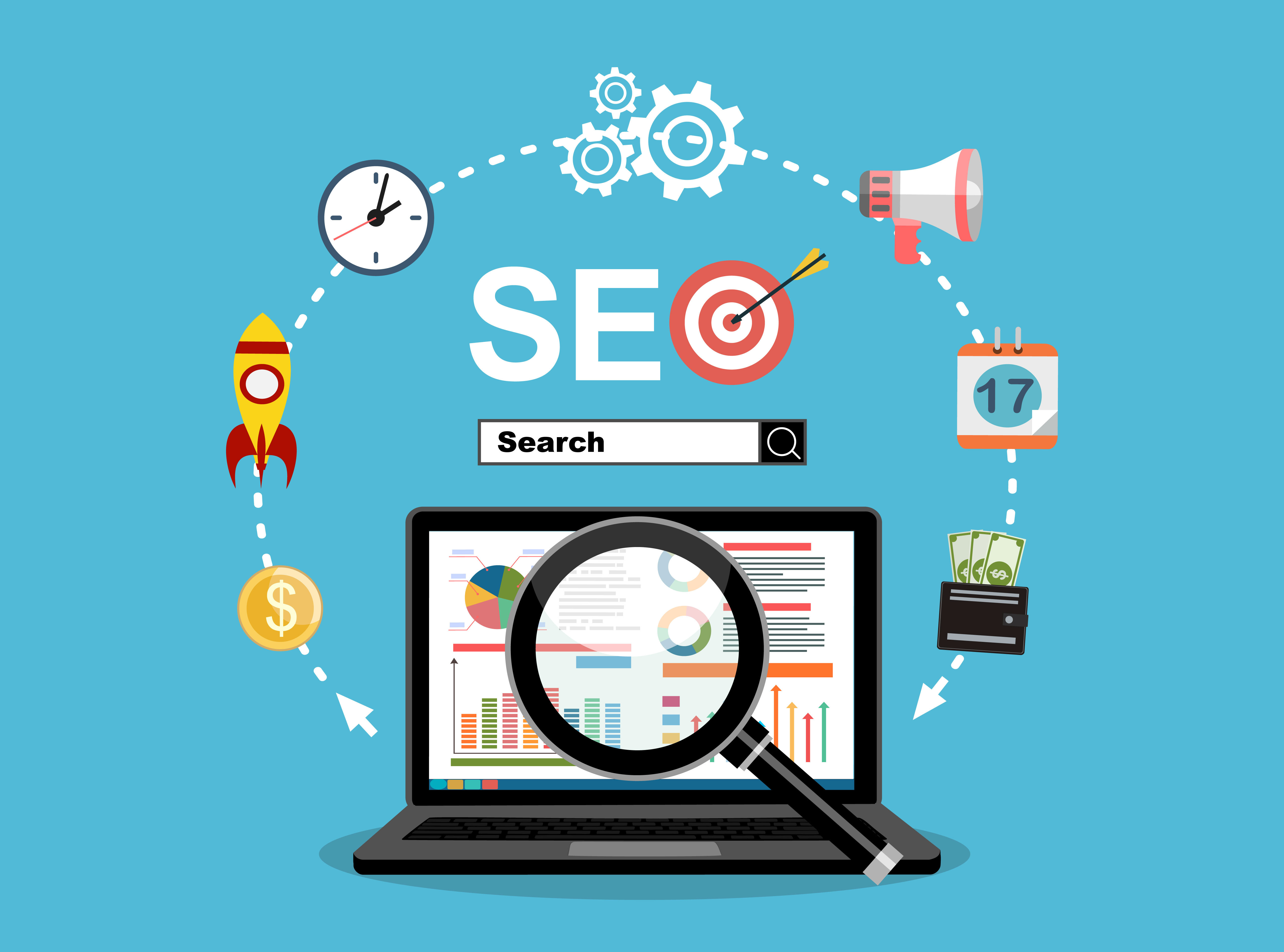how do search engine work