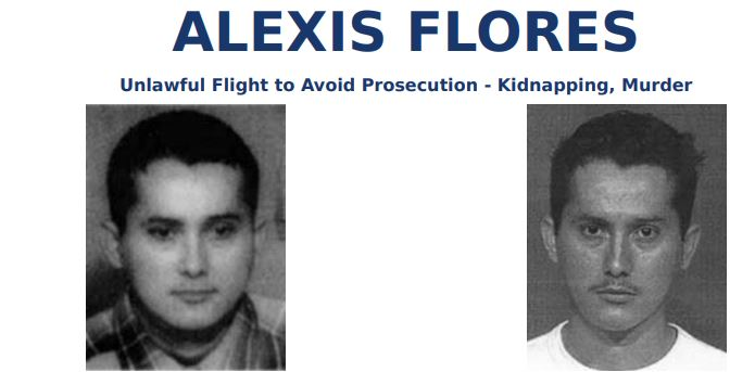 FBI most wanted ALEXIS FLORES