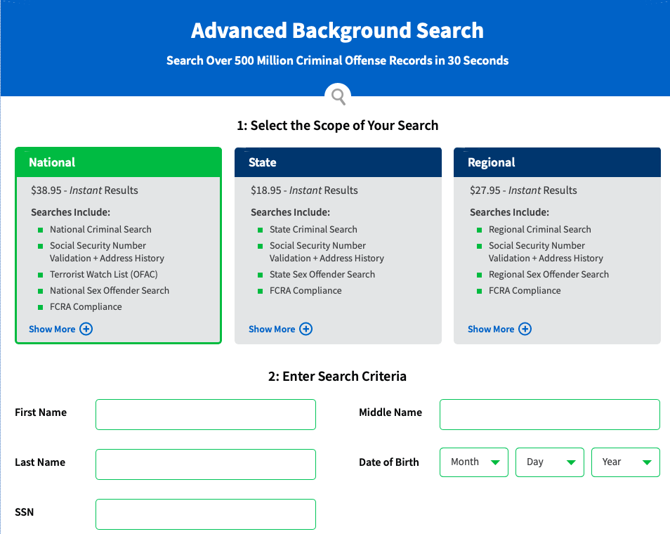 Advanced Background Check Websites to Use