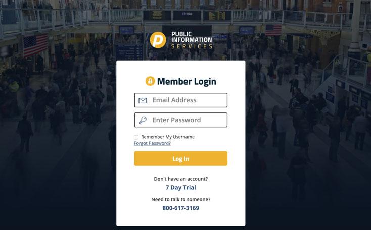 Publicinfoservices.com App