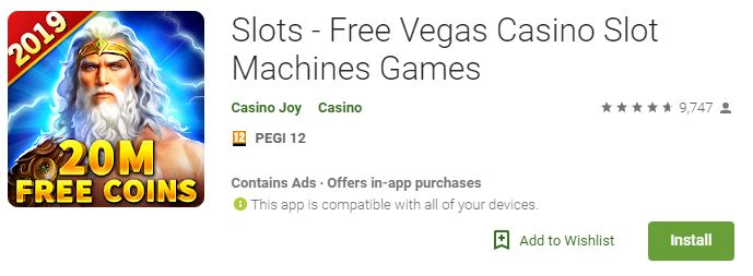 best slots for Android  - Casino Joy Vegas Casino Slots