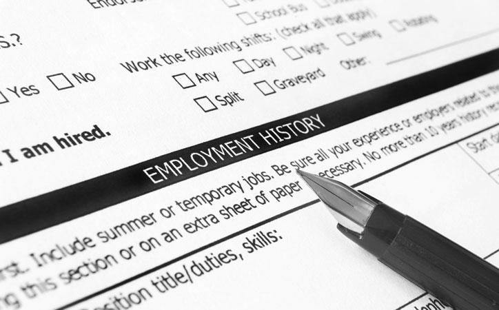 Check Employment History
