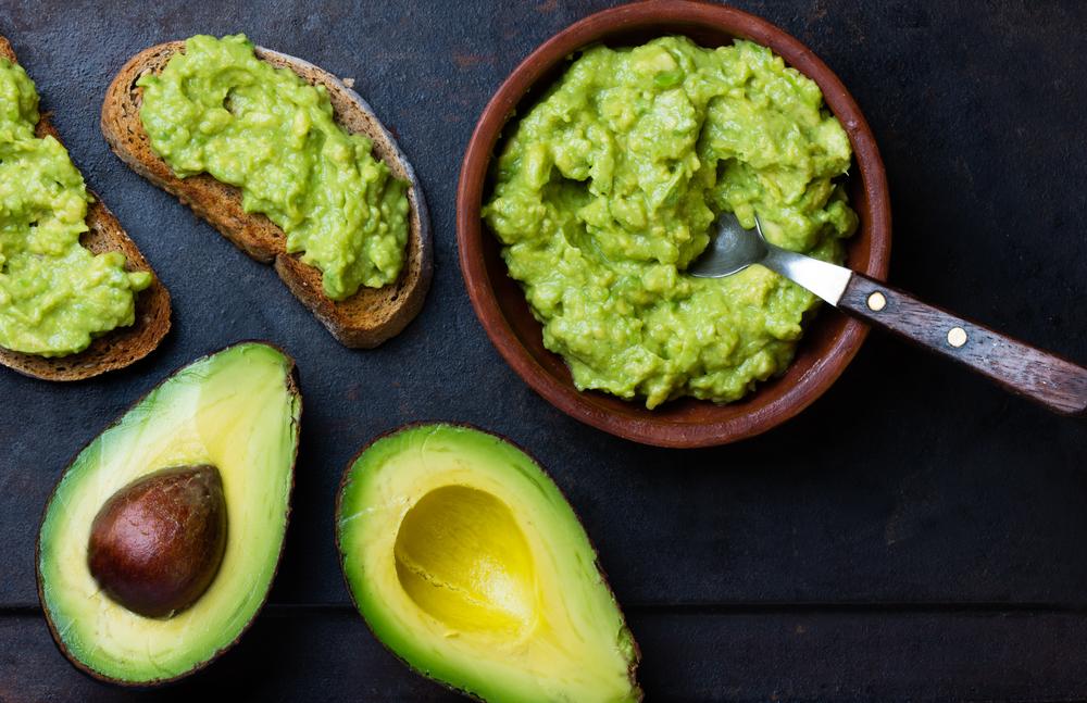 high fat food avocado