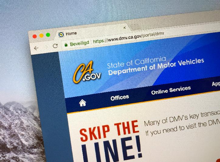 California Driving Records