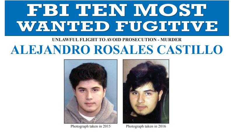FBI most wanted ALEJANDRO ROSALES CASTILLO