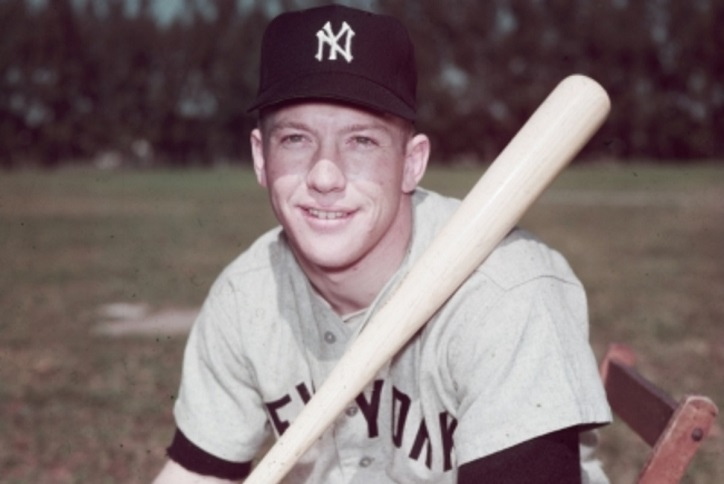 Mickey Mantle Background Check