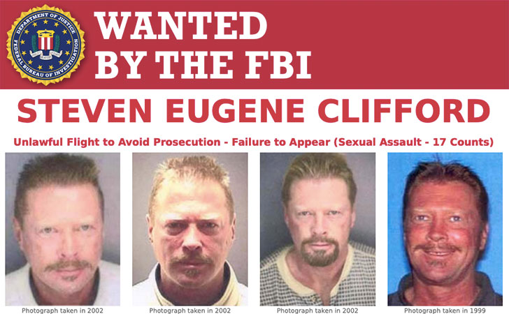 Most Wanted Fugitives by the FBI Steven Eugene Clifford