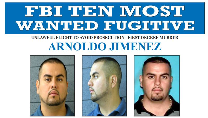FBI Most Wanted ARNOLDO JIMENEZ