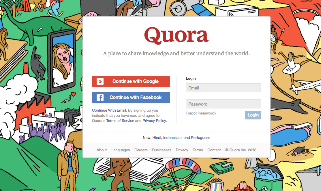 quora search engine