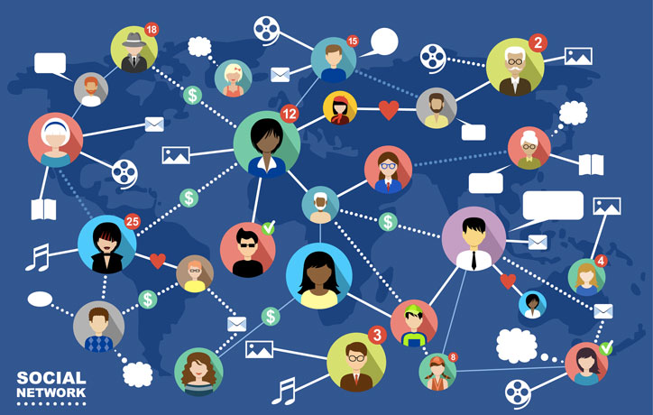 social networks for people search