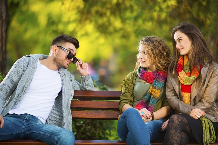 Differences between Flirting for Fun and Flirting with Intent
