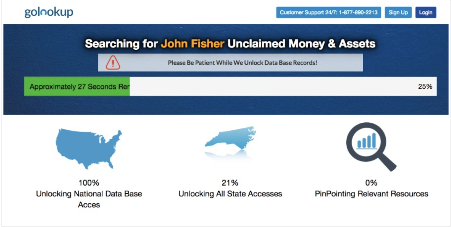 unclaimed money report
